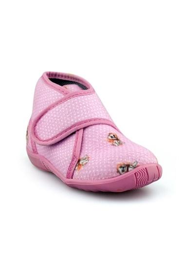 Cicibebe Kız Çocuk Ev Ayakkabısı Pembe
